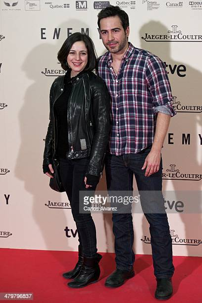 Ruth Nunez and Alejandro Tous attend the 'Enemy' premiere at the Palafox cinema on March 20 2014 in Madrid Spain