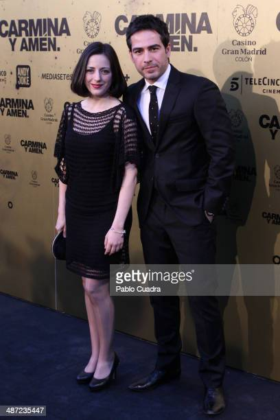 Ruth Nunez and Alejandro Tous attends the 'Carmina y Amen' premiere at the Callao cinema on April 28 2014 in Madrid Spain