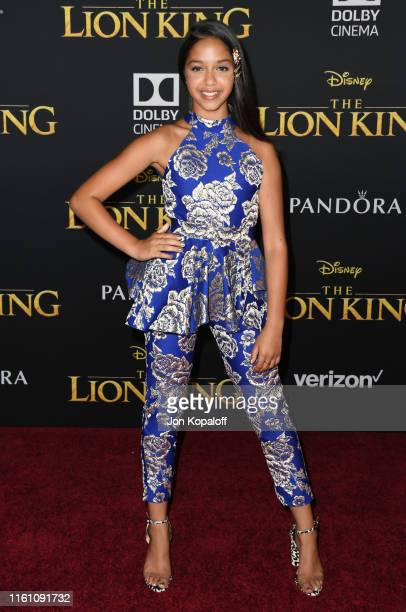 Ruth Righi attends the Premiere Of Disney's The Lion King at Dolby Theatre on July 09 2019 in Hollywood California