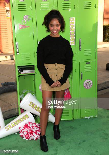 Ruth Righi attends the screening of the Disney Channel original movie ZOMBIES 2 at Walt Disney Studios Main Theater on January 25 2020 in Burbank...