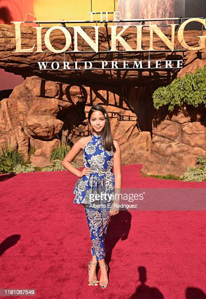 """Ruth Righi attends the World Premiere of Disney's """"THE LION KING"""" at the Dolby Theatre on July 09, 2019 in Hollywood, California."""