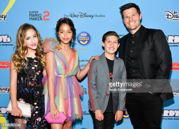 Ruth Righi Ava Kolker Jackson Dollinger and Ian Reed Kesler attend the 2019 Radio Disney Music Awards at CBS Studios Radford on June 16 2019 in...