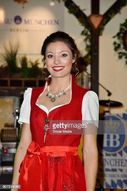 Ruth Sophia Spelmeyer attends the Angermeier Weisswurst Party on January 18 2018 in Berlin Germany