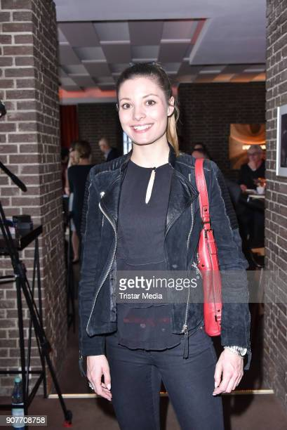 Ruth Spelmeyer during the BERLIN2018 Magazin ReleaseParty on January 19 2018 in Berlin Germany