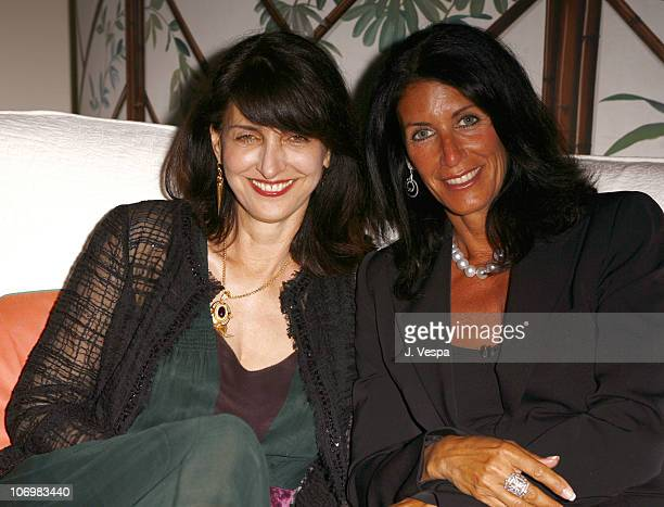 Ruth Vitale and Cathy Winterstern during 2006 Cannes Film Festival Palisades Pictures and Baby Phat Salute Independent Film Under the Stars at Hotel...