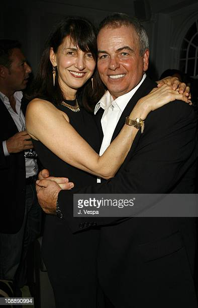 Ruth Vitale and guest during GQ Magazine Honors Golden Globe Nominees Benefiting American Cinematheque - Inside at GM Penthouse at the Regent Beverly...