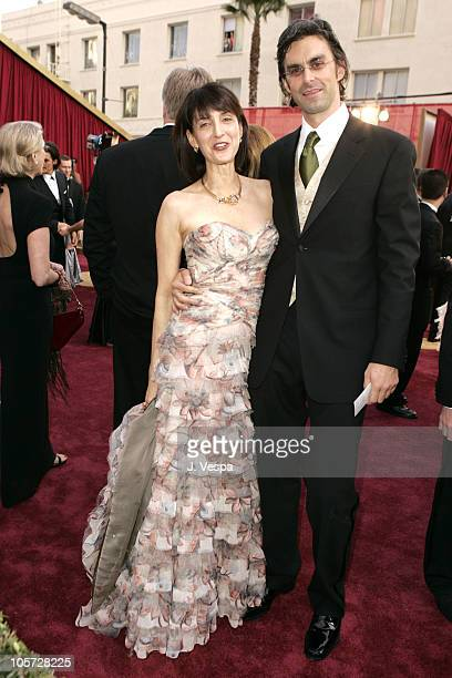 Ruth Vitale and guest during The 77th Annual Academy Awards Executive Arrivals at Kodak Theatre in Hollywood California United States