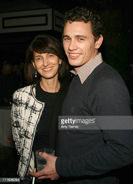 Ruth Vitale and James Franco during First Look International Party at AFM at The Viceroy in Santa Monica, California, United States.