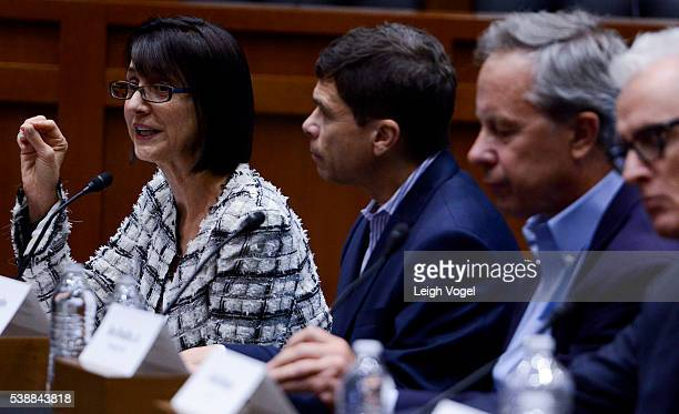 """Ruth Vitale speaks during the Creative Rights Caucus """"Anatomy of a Movie"""" discussion on June 8, 2016 in Washington, DC."""