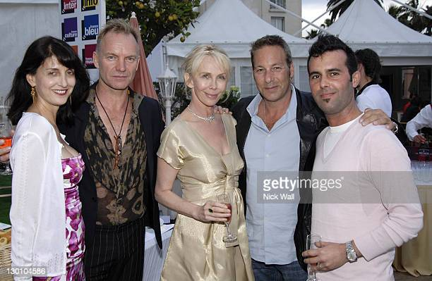 Ruth Vitale, Sting, Trudie Styler and Henry Winterstern