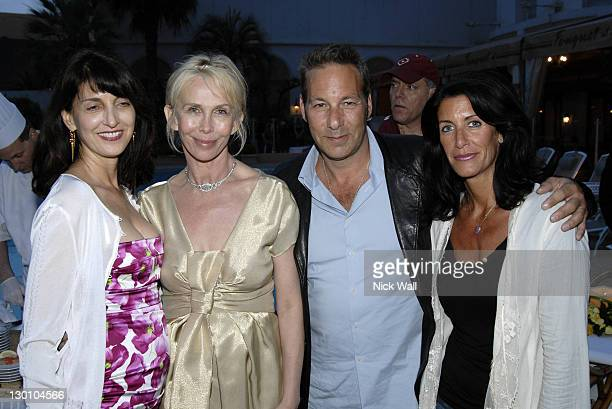 Ruth Vitale, Trudie Styler, Henry Winterstern and his wife