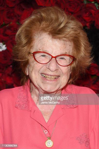 Ruth Westheimer attends the 2019 Maestro Cares Gala at Cipriani Wall Street on March 14 2019 in New York City