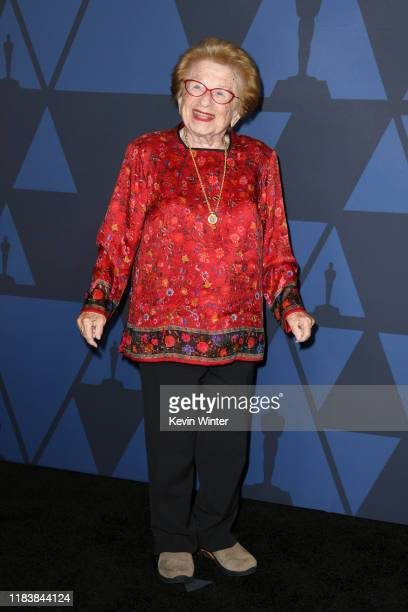Ruth Westheimer attends the Academy Of Motion Picture Arts And Sciences' 11th Annual Governors Awards at The Ray Dolby Ballroom at Hollywood Highland...