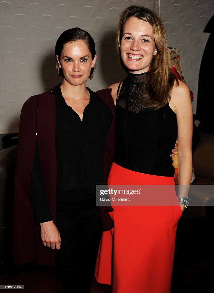 Ruth Wilson (L) and director Carrie Cracknell attend an after party following the press night performance of 'A Doll's House' at The Hospital Club on August 14, 2013 in London, England.