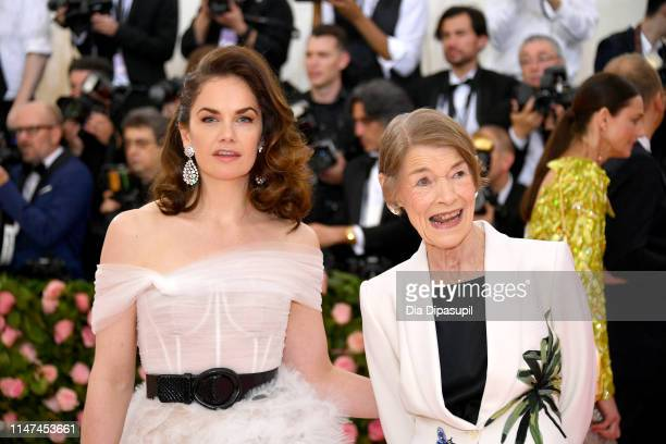 Ruth Wilson and Glenda Jackson attend The 2019 Met Gala Celebrating Camp Notes on Fashion at Metropolitan Museum of Art on May 06 2019 in New York...