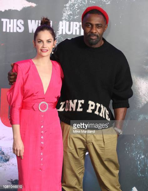 Ruth Wilson and Idris Elba during a photocall for BBC One's Luther held at The Courthouse Hotel on December 11 2018 in London England