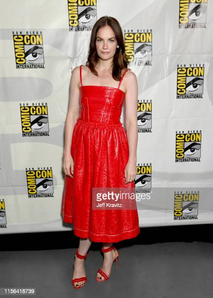 Ruth Wilson at His Dark Materials Comic Con Autograph Signing 2019 at the 50th San Diego Comic Con International Convention at the San Diego...
