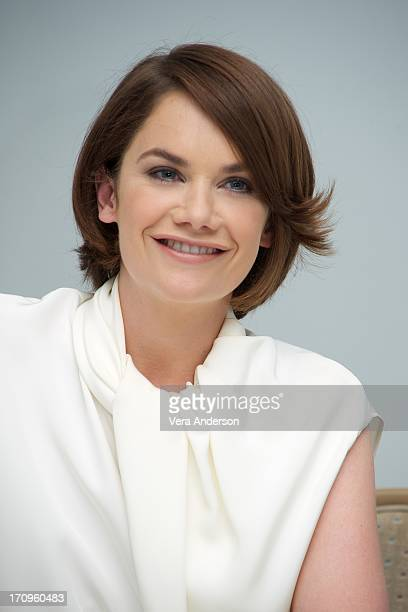 Ruth Wilson at 'The Lone Ranger' Press Conference at the Bishop's Lodge Ranch on June 19 2013 in Santa Fe New Mexico