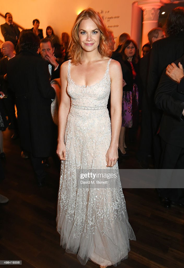 Ruth Wilson attends a champagne reception ahead of The London Evening Standard Theatre Awards in partnership with The Ivy at The Old Vic Theatre on November 22, 2015 in London, England.