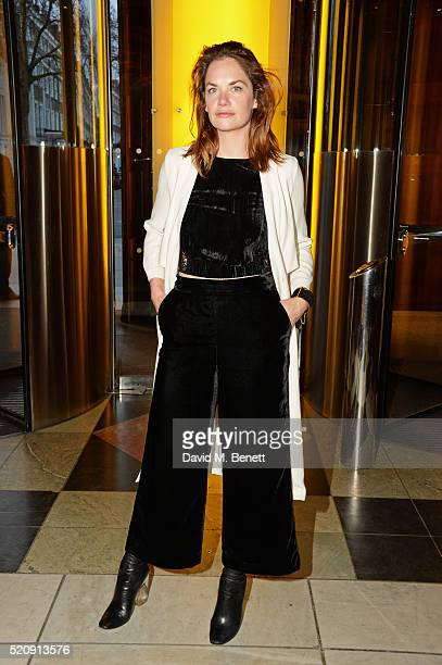 Ruth Wilson attends a private view of new exhibition Undressed A Brief History Of Underwear at The VA on April 13 2016 in London England