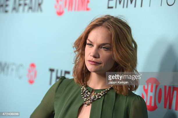 Ruth Wilson attends a screening for Showtime's The Affair at the Samuel Goldwyn Theater on May 6 2015 in Beverly Hills California