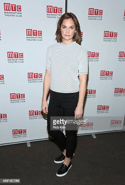 Ruth Wilson attends Constellations Press Preview at Manhattan Theatre Club Rehearsal Studios on November 18 2014 in New York City
