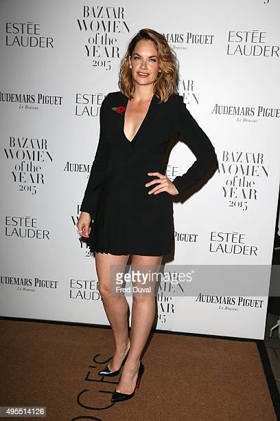 Ruth Wilson attends Harper's Bazaar Women of the Year Awards at Claridge's Hotel on November 3 2015 in London England