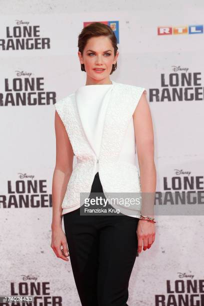 Ruth Wilson attends 'Lone Ranger' Berlin Premiere at Sony Centre on July 19 2013 in Berlin Germany