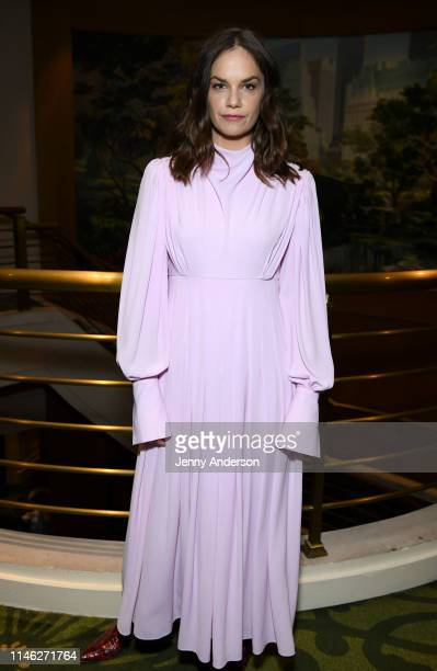 Ruth Wilson attends The 73rd Annual Tony Awards Meet The Nominees Press Day at Sofitel New York on May 01 2019 in New York City