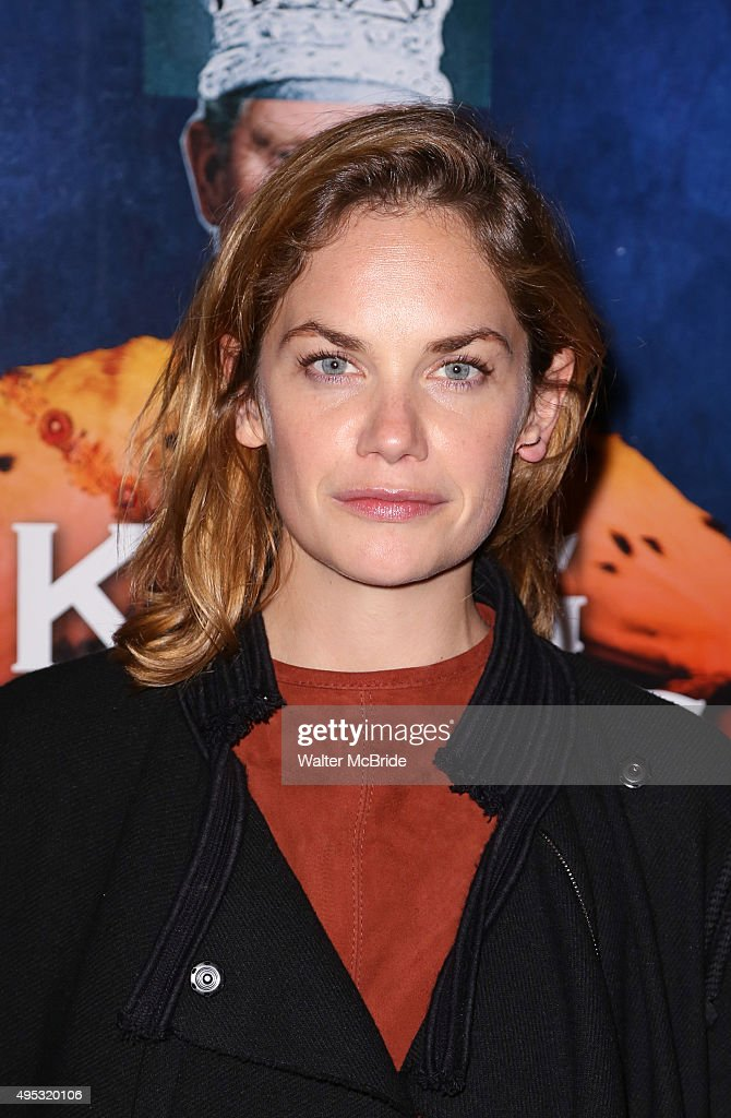 Ruth Wilson attends the Broadway Opening Night performance of 'King Charles III' at the Music Box Theatre on November 1, 2015 in New York City.