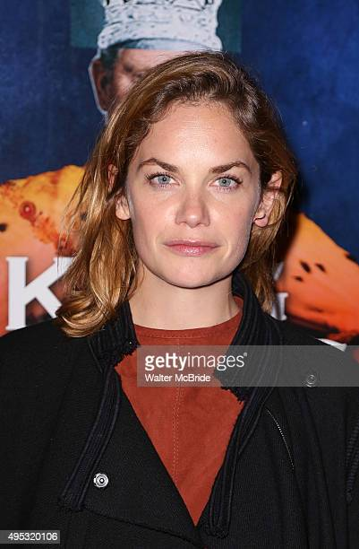 Ruth Wilson attends the Broadway Opening Night performance of 'King Charles III' at the Music Box Theatre on November 1 2015 in New York City