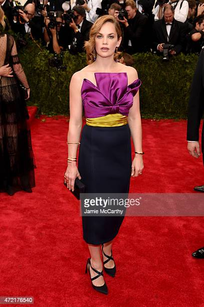 Ruth Wilson attends the China Through The Looking Glass Costume Institute Benefit Gala at the Metropolitan Museum of Art on May 4 2015 in New York...