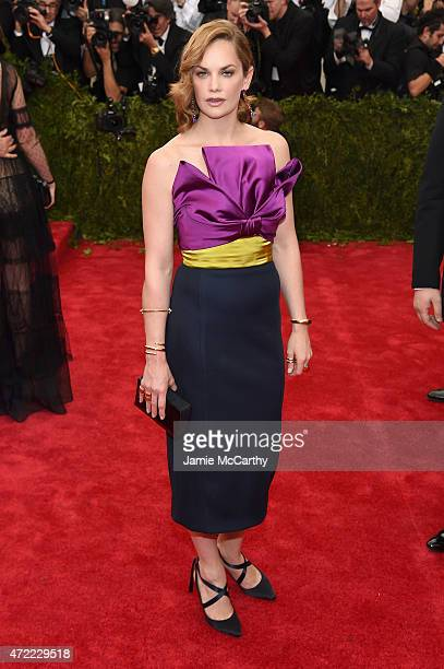 Ruth Wilson attends the 'China Through The Looking Glass' Costume Institute Benefit Gala at the Metropolitan Museum of Art on May 4 2015 in New York...