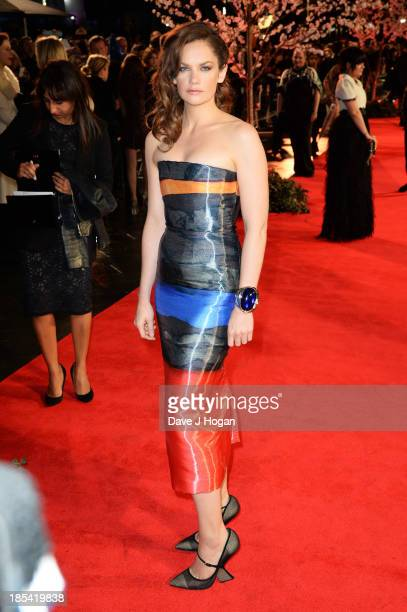 Ruth Wilson attends the Closing Night Gala European Premiere of 'Saving Mr Banks' on the closing night gala during the 57th BFI London Film Festival...