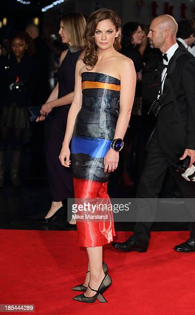 Ruth Wilson attends the Closing Night Gala European Premiere of 'Saving Mr Banks' during the 57th BFI London Film Festival at Odeon Leicester Square...