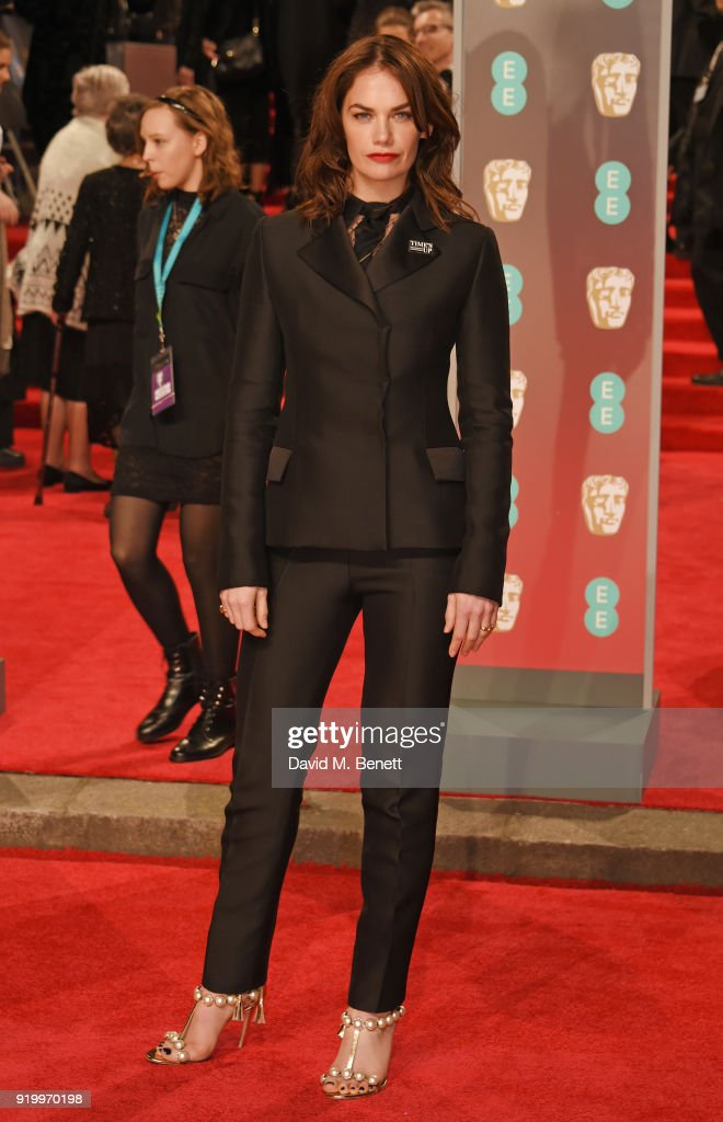 Ruth Wilson attends the EE British Academy Film Awards (BAFTA) held at Royal Albert Hall on February 18, 2018 in London, England.