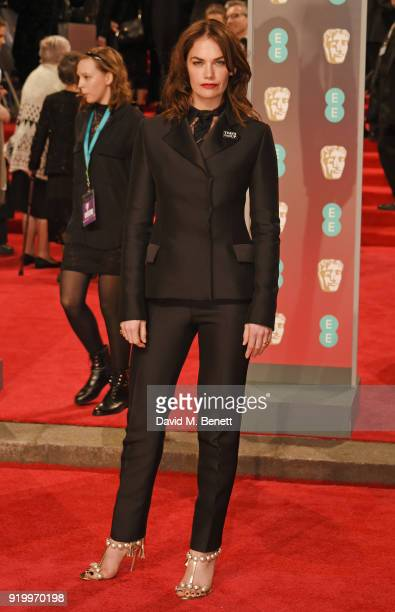 Ruth Wilson attends the EE British Academy Film Awards held at Royal Albert Hall on February 18 2018 in London England