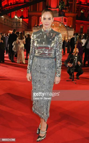 Ruth Wilson attends The Fashion Awards 2017 in partnership with Swarovski at Royal Albert Hall on December 4 2017 in London England