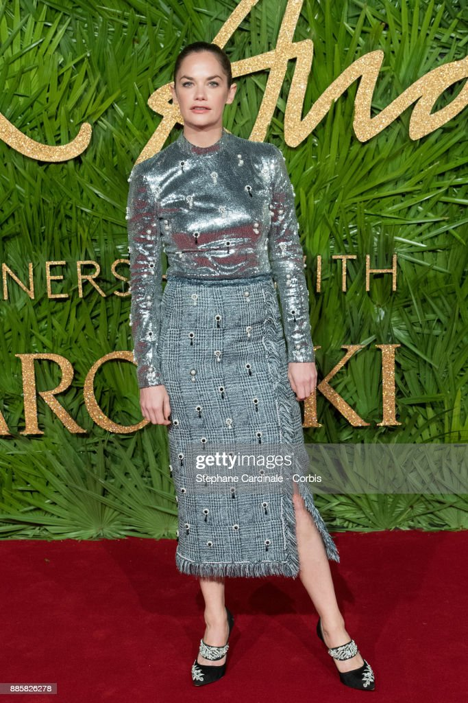 Ruth Wilson attends the Fashion Awards 2017 In Partnership With Swarovski at Royal Albert Hall on December 4, 2017 in London, England.