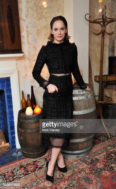 Ruth Wilson attends the Gala party for 'The EL Train' at Hoxton Hall on December 12 2013 in London England