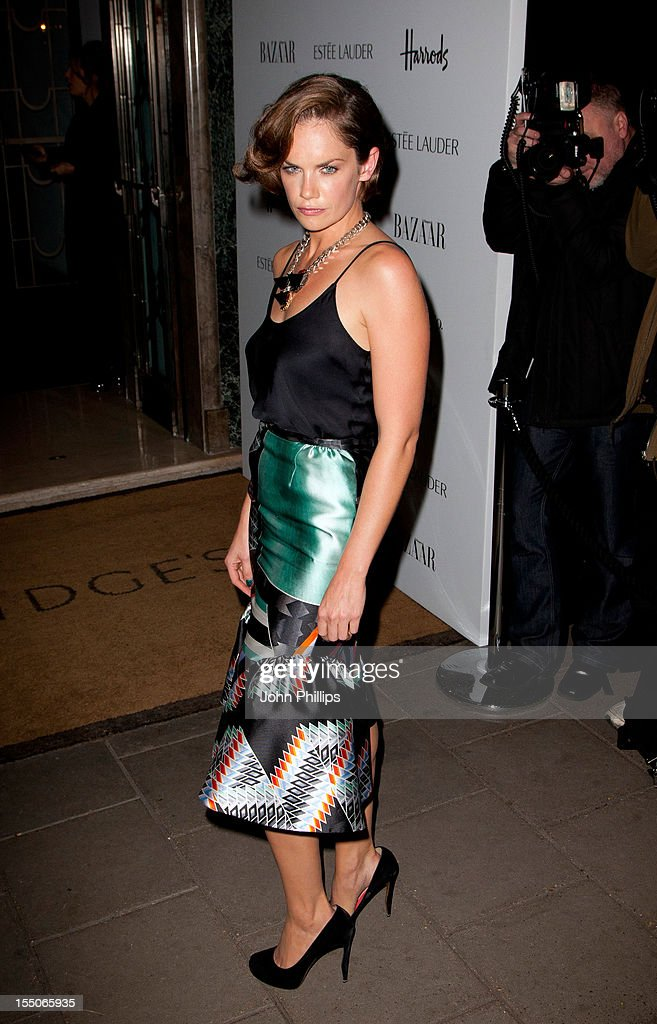 Ruth Wilson attends the Harper's Bazaar Woman of the Year Awards at Claridge's Hotel on October 31, 2012 in London, England.