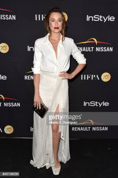 Ruth Wilson attends the HFPA InStyle annual celebration of 2017 Toronto International Film Festival at Windsor Arms Hotel on September 9 2017 in...