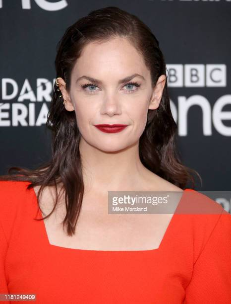 Ruth Wilson attends the His Dark Materials premiere at BFI Southbank on October 15 2019 in London England