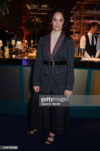 Ruth Wilson attends the IWC Schaffhausen Filmmaker Bursary Award ceremony in association with the BFI at the Electric Light Station on October 9 2018...