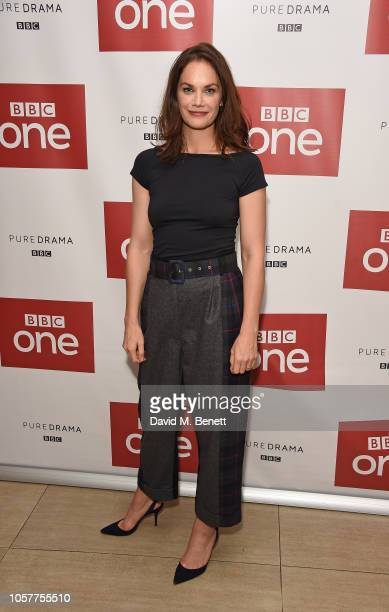 Ruth Wilson attends the premiere screening of new BBC One drama Mrs Wilson at The Courthouse Hotel on November 5 2018 in London England