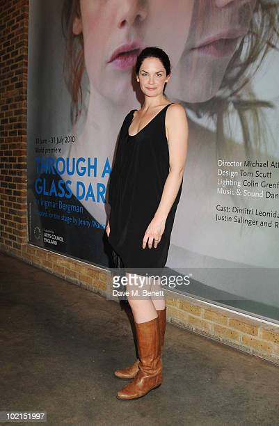 Ruth Wilson attends the press night of 'Through A Glass Darkly' at the Almeida Theatre on June 16 2010 in London England