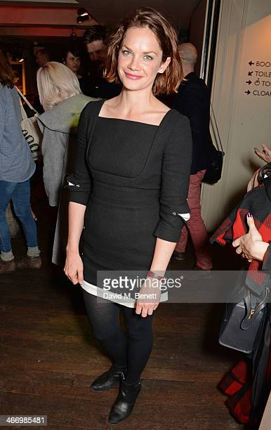 Ruth Wilson attends the press night performance of 'The Mistress Contract' with Quintessentially Vodka at the Royal Court Theatre on February 5 2014...