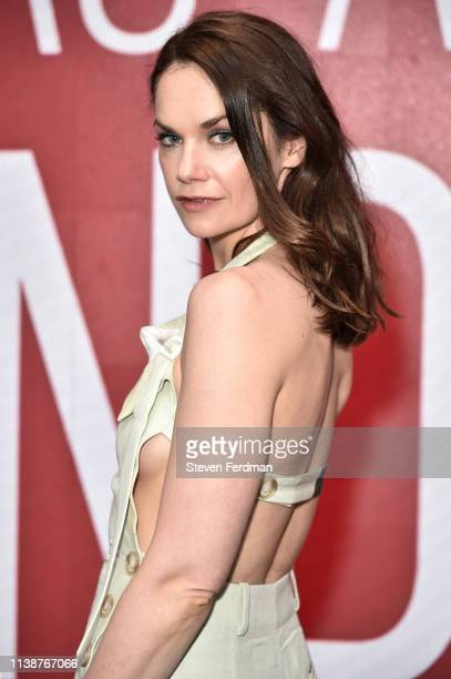 Ruth Wilson attends the SAGAFTRA Foundation Conversations 'Mrs Wilson' at The Robin Williams Center on April 22 2019 in New York City