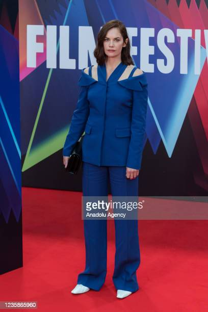 Ruth Wilson attends the UK film premiere of 'The Lost Daughter' at the Royal Festival Hall during the 65th BFI London Film Festival in London, United...