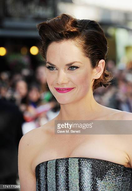 Ruth Wilson attends the UK Premiere of 'The Lone Ranger' at Odeon Leicester Square on July 21 2013 in London England